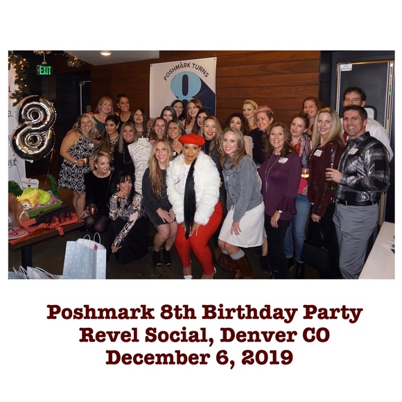 Thank you for joining CO Poshmark 8th Birthday!